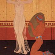 Illustration From Les Chansons De Bilitis Poster