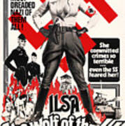 Ilsa - She Wolf Of The Ss 1975 Poster