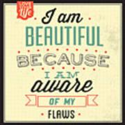 I'm Beautiful Poster