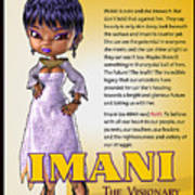 Imani, The Visionary Poster