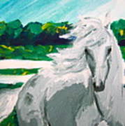 Impressionism Horse Poster