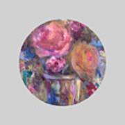 Impressionist Floral Art Poster