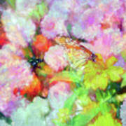 Impressionist Floral Xxxi Poster