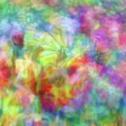 Impressionist Floral Xxxii Poster