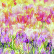 Impressionist Floral Xxxiv Poster