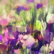 Impressionist Floral Xxxvi Poster