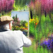 Impressionist Painter Poster