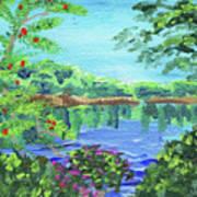 Impressionistic Landscape Xx Poster