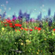 Impressionistic Springtime Poster