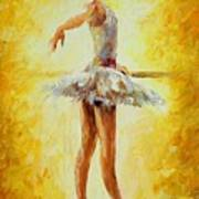 In The Ballet Class Poster
