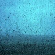 In The Dark Blue Rain Poster