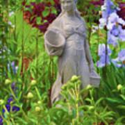 In The Flower Garden Poster