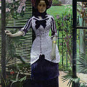 In The Greenhouse Poster by Albert Bartholome