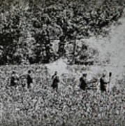 In The Heat Of Battle - Gettysburg Pa Poster