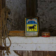 In The Old Horse Barn Poster