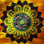In Tune Mandala Poster