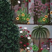 India: Garden Poster