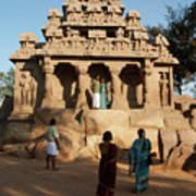 India Mahabalipuram  Poster