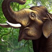 Indian Elephant 1 Poster