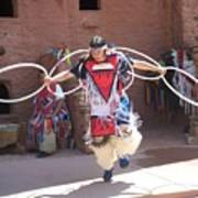 Indian Hoop Dancer Poster