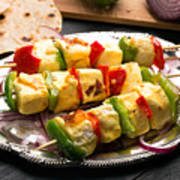 Indian Paneer Curd Cheese  Poster