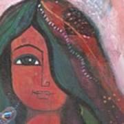 Indian Rajasthani Woman Poster