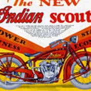 Indian Scout Poster