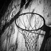 Indiana Hoop Poster by Michael L Kimble