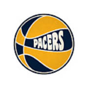 Indiana Pacers Retro Shirt Poster