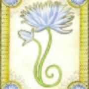 Indigo Lily Poster