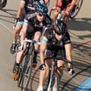 Indoor Bike Race Poster