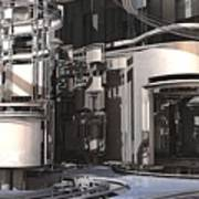 Industrial Manufacturing Poster