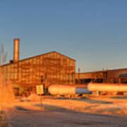 Industrial Site 1 Poster by Douglas Barnett