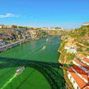 Infante Bridge Oporto Poster
