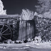 Infrared Mill 2 Poster