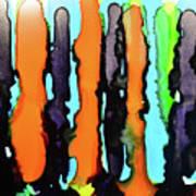Ink Stripes Poster