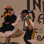 Inka Dancers Poster