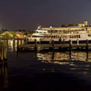 Inner Harbor Tour Boat Poster