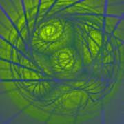 Inner Light Spiral Sanctum Poster