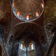 Inside Of Mystras Church Poster