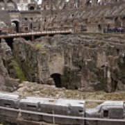 Inside The Coliseum Poster