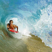 Inside Wave Tube Poster