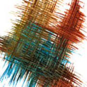 Intensive Abstract Painting 710.102610 Poster