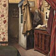 Interior Of The Artist's Studio Poster