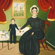 Interior Scene Poster