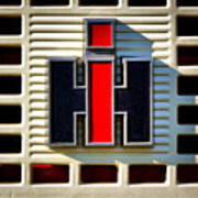 International Harvester Logo Poster