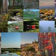 Intimate New England Landscape Photography Poster