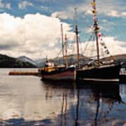 Inverarray Harbor Poster