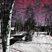 Invernal Landscape Poster