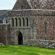 Iona Abbey Poster